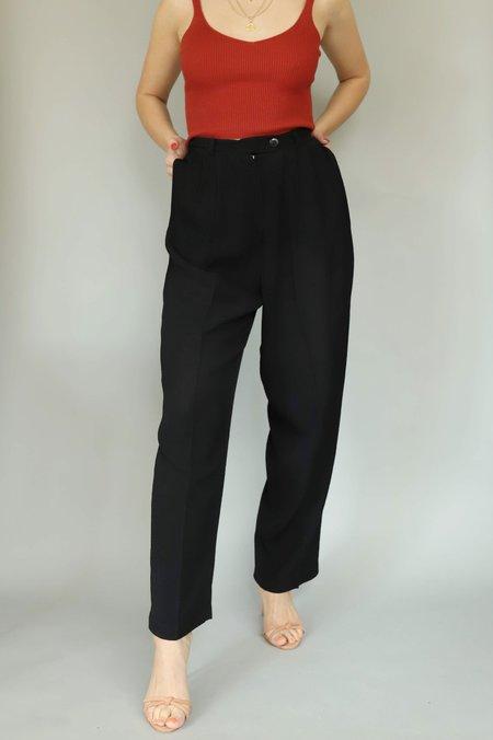 Vintage Gauze Trousers - Black