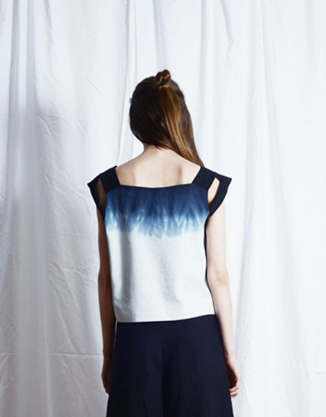 Elise Ballegeer Dyed Mond Top