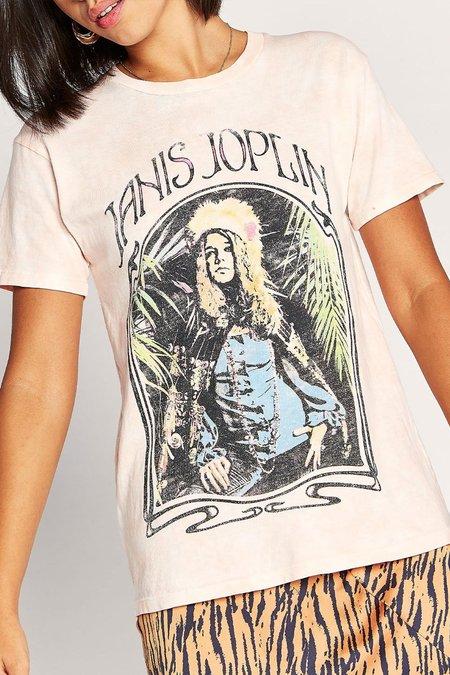 Daydreamer Janis Joplin Art Nouveau Tee - Flaminco Cloud Wash
