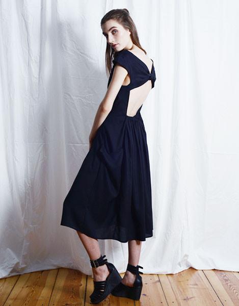 Elise Ballegeer Knot Dress