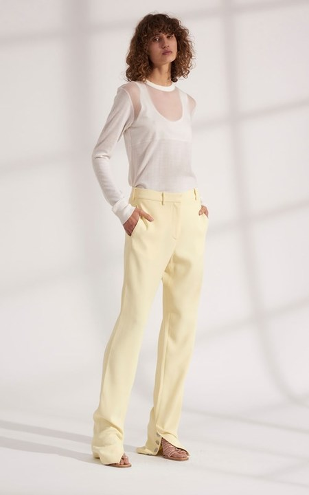DION LEE CADY VENTED TROUSER