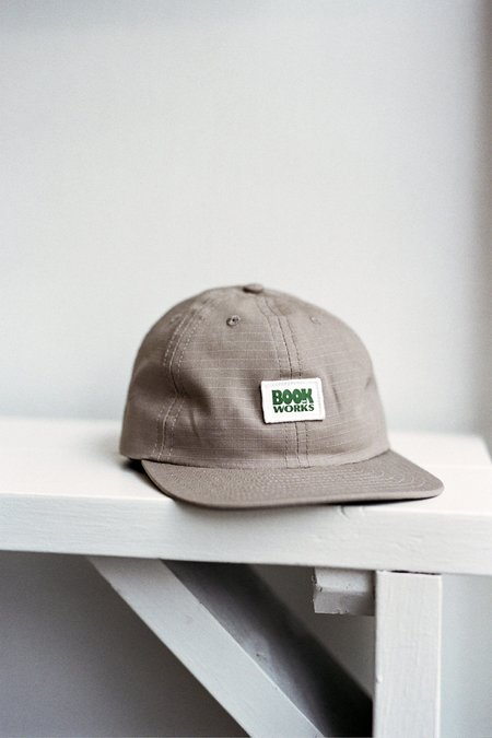 Book Works Patch Hat - Khaki