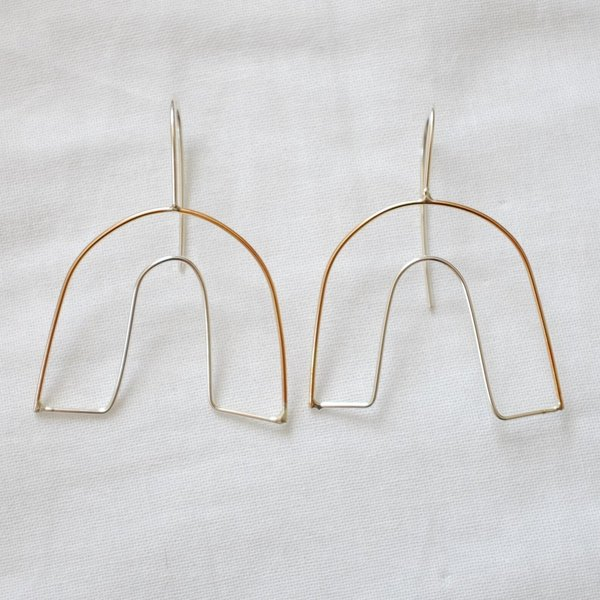 Emily's The Arch Earring - Gold Fill/Sterling Silver