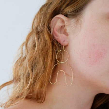 Emily's The Freesia Earring - Gold Fill/Sterling Silver