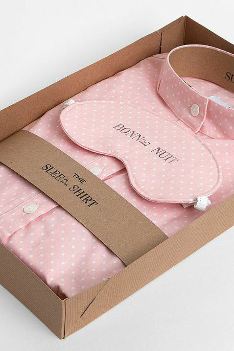 The Sleep Shirt - Bonne Nuit by The Sleep Shirt x Rebecca Bree