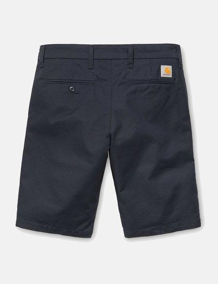 CARHARTT WIP Carhartt-WIP Sid Short (Stretch Twill) - Dark Navy Rinsed