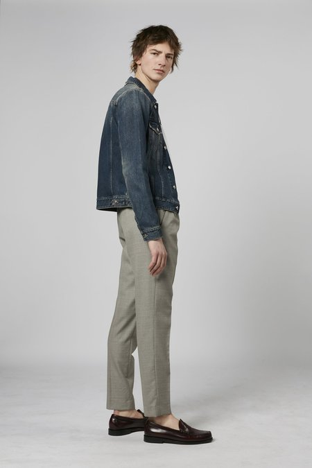 Harmony Paolo trousers wool - mastic