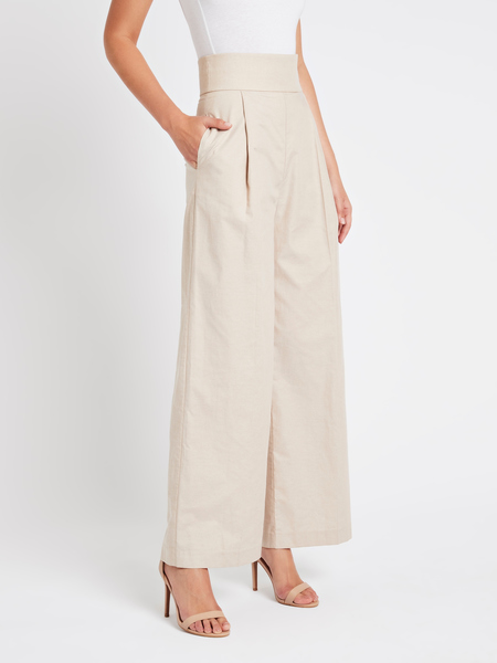 C & M Camilla And Marc London Pant - buff