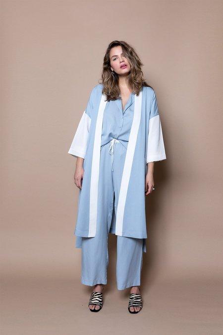 Soft Focus The Classic Robe –Blue Sky