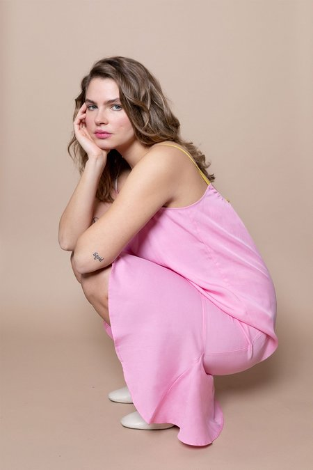 Soft Focus The Fluted Slip – Pink Mix