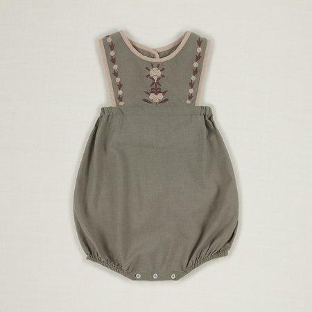 Baby Apolina Jenny Romper Set - Sage