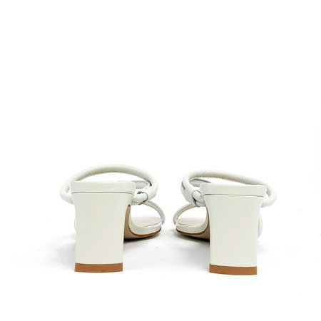 """""""INTENTIONALLY __________.""""  Willow Sandals - White"""