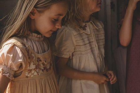 Kids Apolina Tabitha Dress - Hay