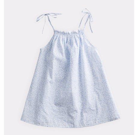 Kids belle enfant gathered sundress - ditsy floral blue