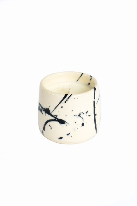 Earl Home splatter candles - Black