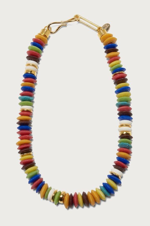 Lizzie Fortunato Laguna Necklace in Rainbow
