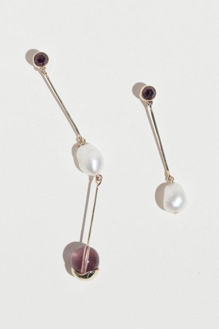 FARIS Lila Earrings - Bronze