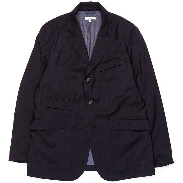 Engineered Garments Andover Jacket - Dark Navy Tropical Wool