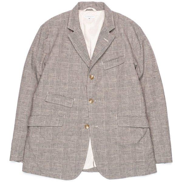 Engineered Garments Andover Jacket - Grey CL Glen Plaid