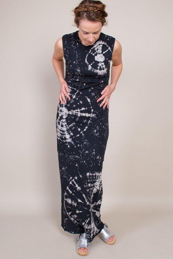 Raquel Allegra Muscle Maxi Dress - Black Constellation