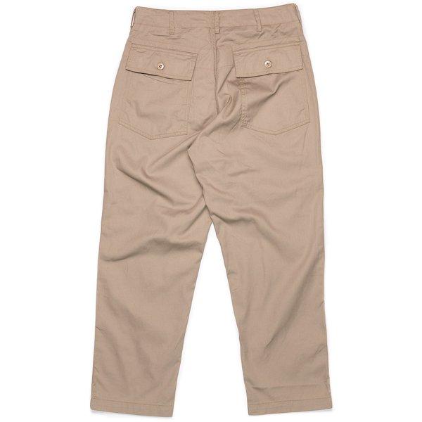Engineered Garments Fatigue Pant - Khaki 6.5oz Flat Twill