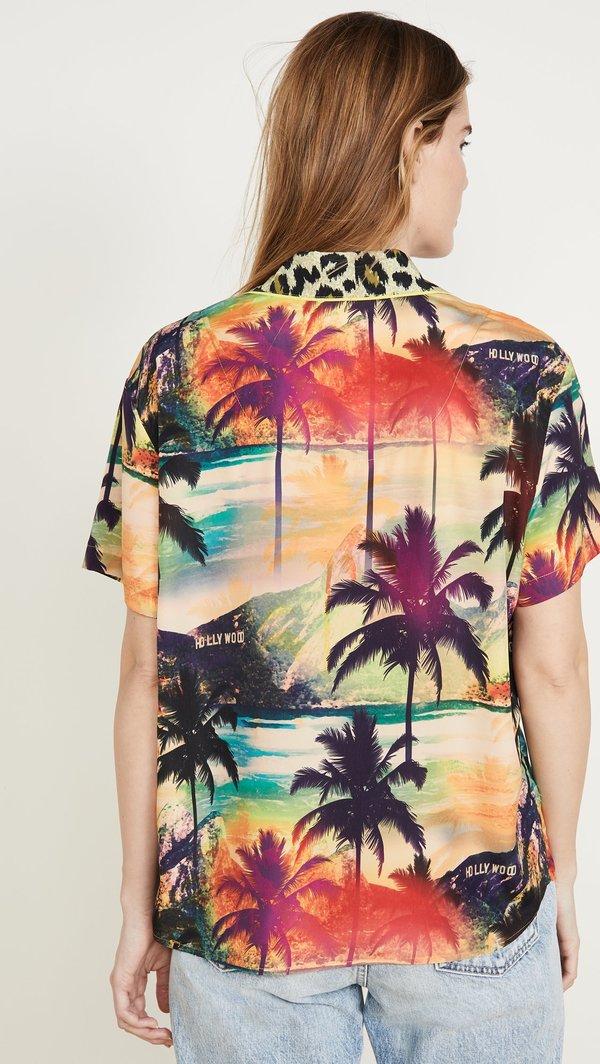 Le Superbe California Hollywood De Janeiro surf camp shirt
