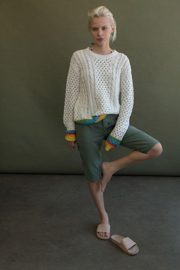 Le Superbe California Sinbad fisherman sweater - White