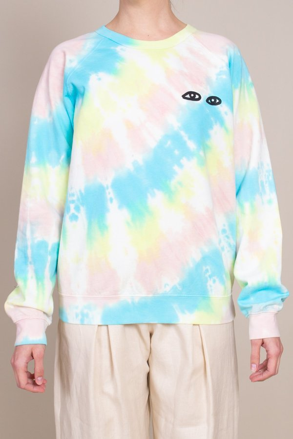 Clare V. Sweatshirt - Pastel Tie Dye