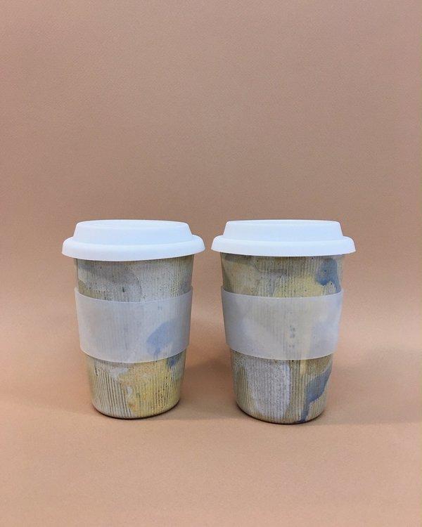 Meg Hubert ceramic travel mug