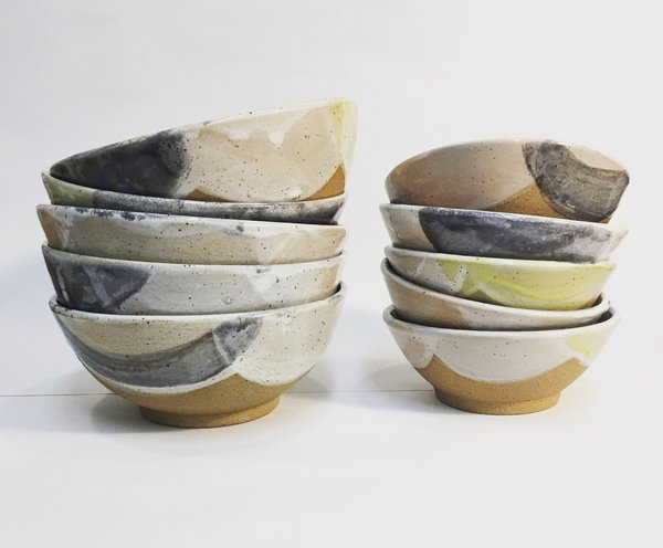 Meg Hubert pastel bowls