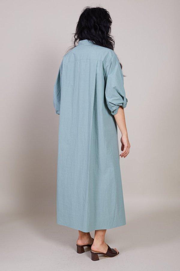 Sayaka Davis Twisted Sleeve Dress - Sage