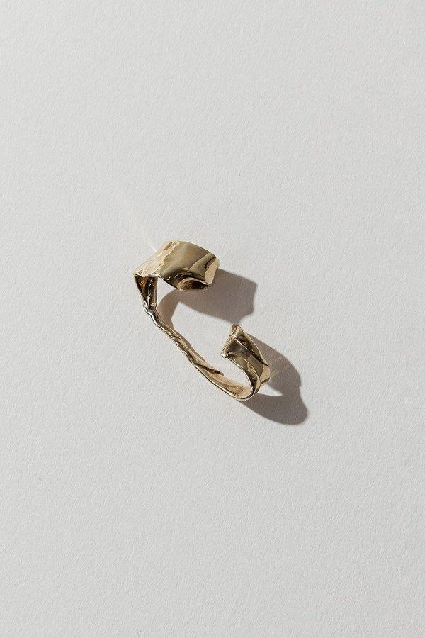 FARIS Warp Ear Cuff in Bronze
