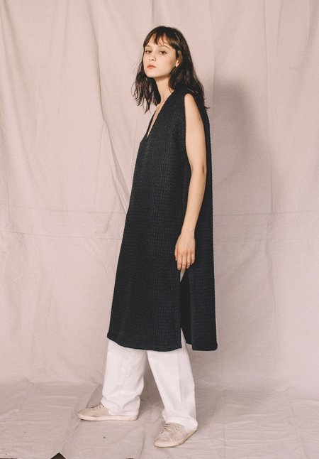 Nahanni Arntzen wool tunic dress