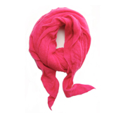 Botto Giuseppe Fuschia Diamond Shaped Cashmere Scarf by Botto Giuseppe