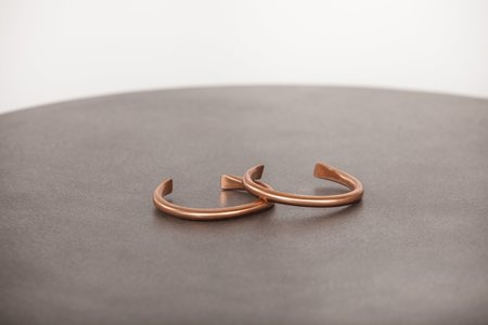 Wilkens Studio cuff - copper