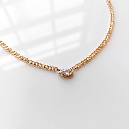 Thatch Drew Necklace - 14K Gold Vermeil