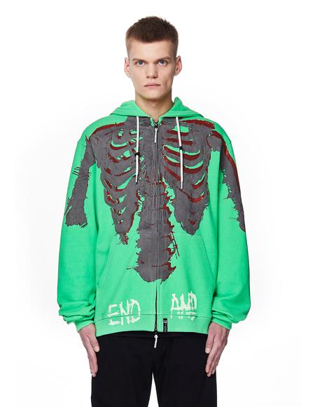 99% IS- Cotton Hoodie - Neon Green