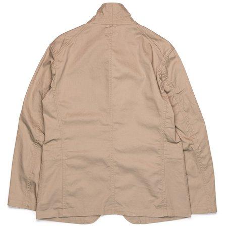 Engineered Garments Bedford Jacket - Khaki 6.5oz Flat Twill