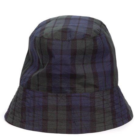 Engineered Garments Bucket Hat - Blackwatch Nyco Cloth