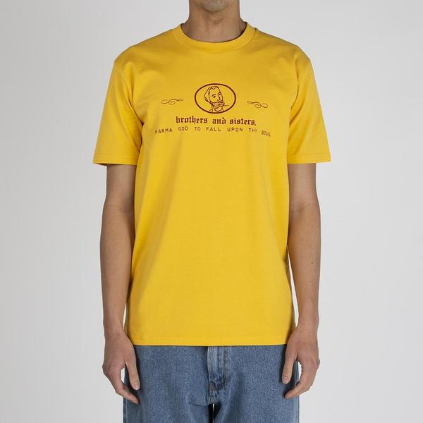 Fucking Awesome Brothers and Sisters T-shirt - Gold