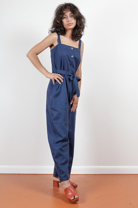 Gravel & Gold Myst Jumpsuit - Sail Blue