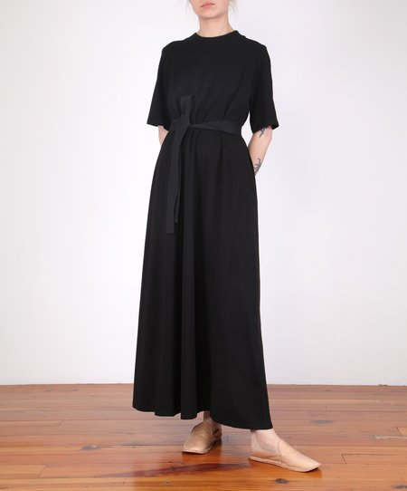 Kowtow Tee Shirt Swing Dress - Black