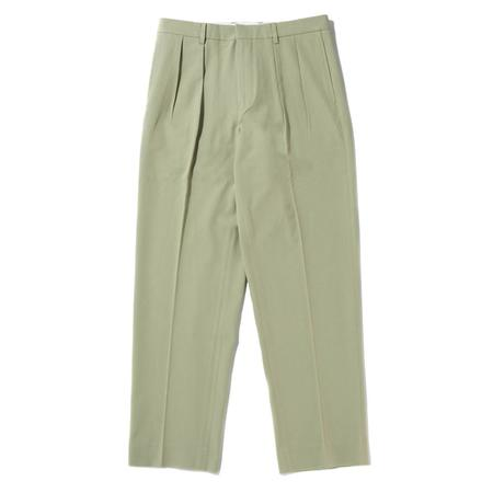 Fucking Awesome Pleated Pants - Soft Lime