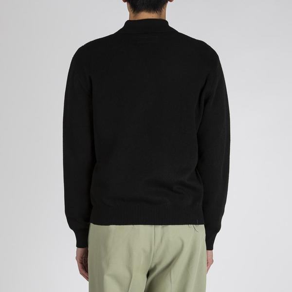 Fucking Awesome Polo Sweater - Black
