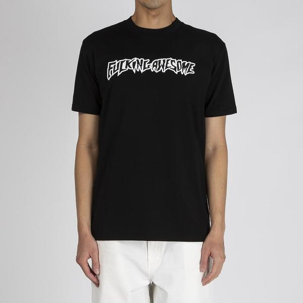 Fucking Awesome Puff Outline Logo T-shirt - Black