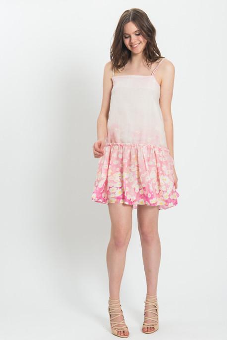 Cacharel - Floral Voile Print Dress