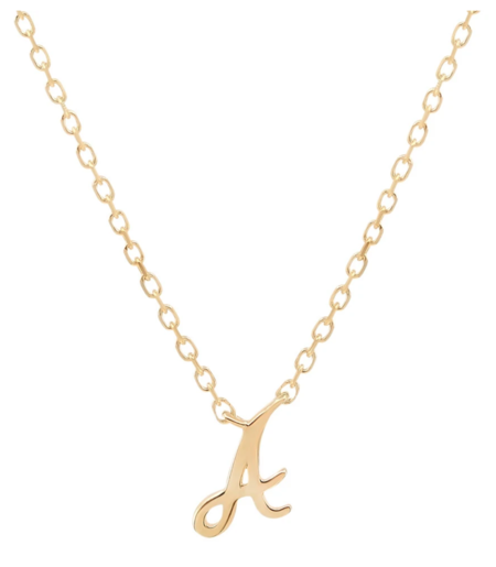 By Charlotte Love Necklace - 14k Gold