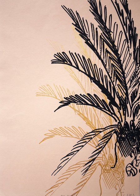 AMA Collection The palms wall art