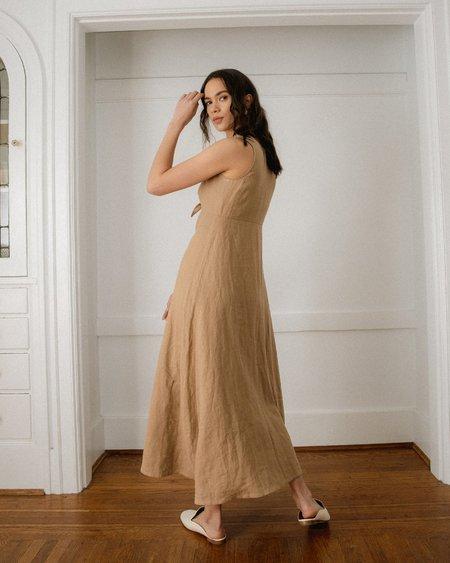 Harly Jae Arlès Dress - Taupe