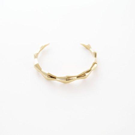 Mau Onda Cuff - Brass